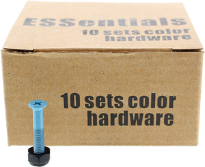 "ESSENTIALS 10/PK LIGHT BLUE 1"" HARDWARE ppp"