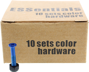 "ESSENTIALS 10/PK DARK BLUE 1"" HARDWARE ppp"