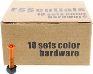 "ESSENTIALS 10/PK ORANGE 1"" HARDWARE ppp"