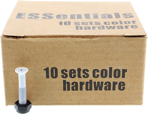 "ESSENTIALS 10/PK WHITE 1"" HARDWARE ppp"