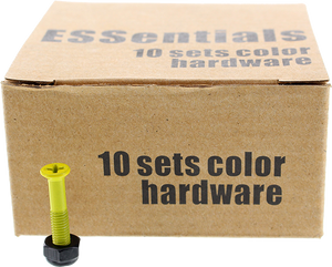 "ESSENTIALS 10/PK YELLOW 1"" HARDWARE ppp"