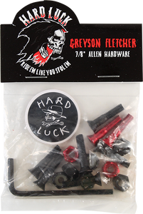 "HARD LUCK FLETCHER 7/8"" ALLEN HARDWARE"