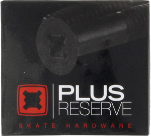"PLUS RESERVE UNIVERSAL 1"" BLK/RED HARDWARE SET"
