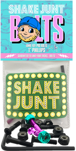 "SHAKE JUNT FOY 1"" PHILLIPS BLK/TEAL/PINK 1set"
