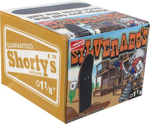 "SHORTYS SILVERADOS 1-1/8"" [ALLEN] 10/BOX HARDWARE"