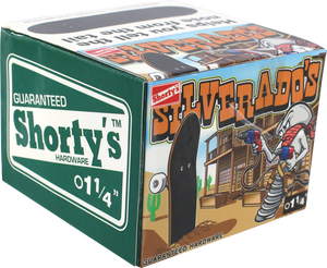 "SHORTYS SILVERADOS 1-1/4"" [ALLEN] 10/BOX HARDWARE"