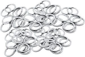 STANDARD SPEED WASHERS 100/PACK SILVER