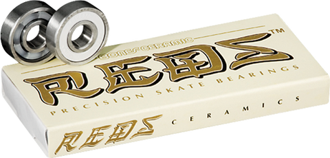 BONES CERAMIC SUPER REDS (SINGLE SET) BEARINGS