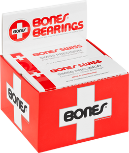 BONES SWISS (10/PACK) BEARINGS