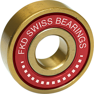 FKD SWISS GOLD BEARING SET GOLD/RED W/WHT