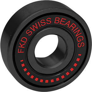 FKD SWISS BEARING SET BLK/RED