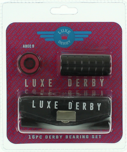 LUXE ABEC-9 DERBY BEARINGS 1-SET(16 bearings)