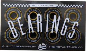 ROYAL GOLD CROWN BEARINGS single set