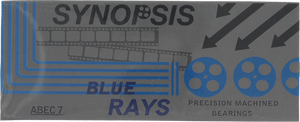 SYNOPSIS ABEC-7 BLUE RAY BEARINGS