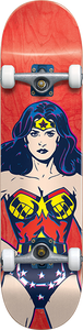 ALMOST SKATEBOARDS WONDER WOMAN COLORS COMPLETE-7.37