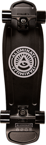 ALUMINATI SKATEBOARDS TRADITIONAL MULLET COMP-8.12x28 BLK/GREY