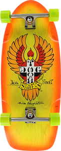 DOGTOWN BIGFOOT COMPLETE-11.87x30.75 YEL/ORG FADE