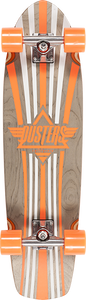 "DUSTERS SKATEBOARDS KEEN FADE 31"" CRUISER COMPLETE TONIC ORG"