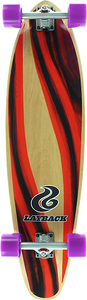 LAYBACK LONGBOARDS YIN YANG KICKTAIL COMPLETE-9.75x38 ppp