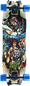 LYZ WOLF SHARK WARRIOR WOMAN COMPLETE-10x35.5