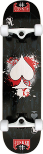 PUNKED DECKS ACE OF SPADES COMPLETE -7.75 ppp
