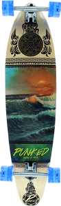 PUNKED DECKS KICKTAIL COMPLETE-10x40 WAVE SCENE ppp