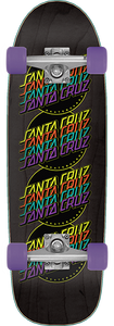 SANTA CRUZ MULTISTRIP CRUZER COMPLETE-8.79x29.05 BLACK