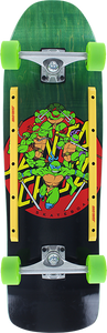 SANTA CRUZ TMNT TURTLE POWER 80'S COMPLETE-9.35x31.7