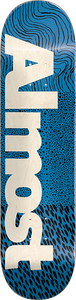 ALMOST SKATEBOARDS CT LOGO DECK-7.75 BLUE ppp