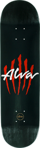 ALVA SCRATCH LOGO-8.25 BLACK