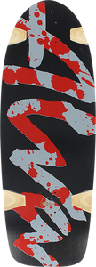 ALVA SPLATTER REISSUE DECK-10.5x30.5 BLACK/RED/BLU