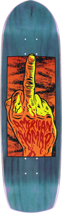 AMERICAN NOMAD ONE FINGER SALUTE DECK-9x33 BLUE