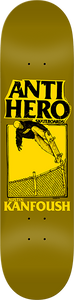 ANTI HERO KANFOUSH X LANCE II DECK-8.5 YELLOW