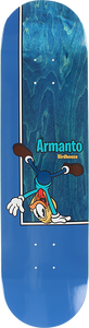 BIRDHOUSE SKATEBOARDS ARMANTO BIRDS DECK-8.0 BLU/NATURAL