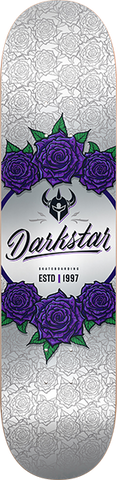 DARKSTAR IN BLOOM DECK-8.0 SILVER