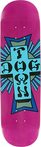 DOGTOWN STREET CROSS DECK-8.0 PURPLE/BLUE