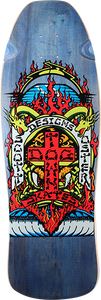 DOGTOWN OSTER REISSUE DECK-10.37x31 TRANS BLUE