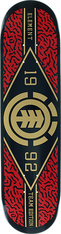 ELEMENT RIVER CAMO TWIG DECK-7.3 BLK/RED/GOLD