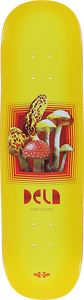 HABITAT DELATORRE FOREST FUNGI DECK-8.25 YELLOW