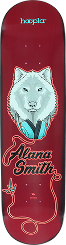 HOOPLA ALANA SMITH WOLF II DECK-8.0 RED