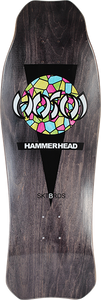 HOSOI HAMMERHEAD STAINED GLASS DECK-10.25x31 BLK