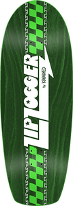 KROOKED SKATEBOARDS ZIP ZOGGER RGB DECK-10.75x30 GREEN