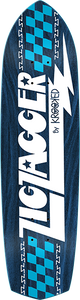 KROOKED SKATEBOARDS ZAGGER RGB DECK-8.62x32.38 BLUE