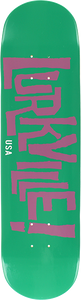 LURKVILLE LOGO DECK-7.75 DAVENPORT COLOR TEAL/PUR