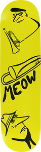 MEOW JAZZ DECK-7.75 YELLOW