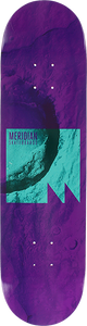 MERIDIAN LIFT OFF DECK-8.12 PURPLE TEAL