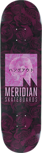 MERIDIAN WE HANG OUT DECK-8.0 BLK/PINK