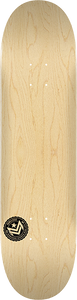 MINI LOGO DECK 244/K-20 -8.5 CHEVRON STAMP NATURAL