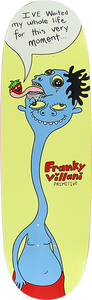 PRIMITIVE SKATEBOARD VILLANI THIS VERY MOMENT DECK-9.12 YEL