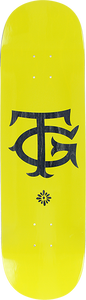 REAL SKATEBOARDS GUERRERO THE TG DECK-8.38 YELLOW/BLK